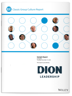 Dion Leadership-DiSC Classic Group Culture