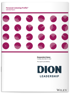 Dion Leadership-Personal Listening Profile