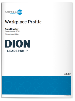 Dion Leadership-Workplace Profile-Everything DiSC