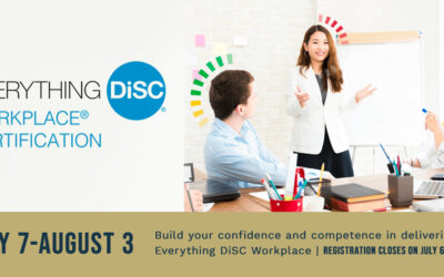 Everything DiSC Workplace® Virtual Certification