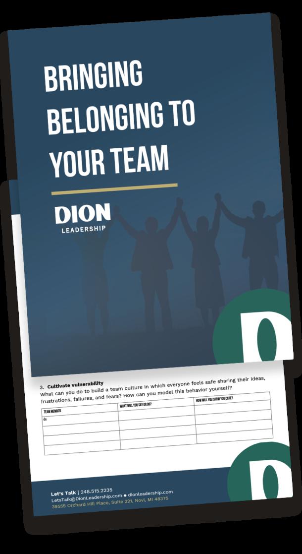 Dion Leadership_Belonging Action Plan_Download Image